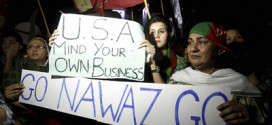 Anti-govt protests continue amid deadlock over talks in Pak