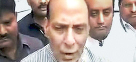 PMO, Shah back Rajnath after he threatens to quit