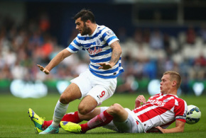 Stoke City held to draw by QPR comeback