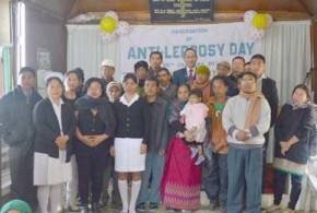 Fight against leprosy continues; Kohima marks day
