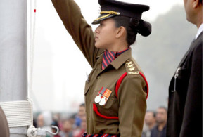 Manipuri lady officer to unfurl national flag at Rajpath, Delhi