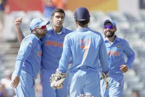 India crush UAE to maintain perfect record