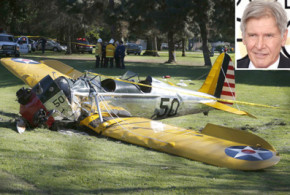 Harrison Ford suffers head injuries after crashing plane