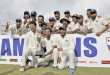 Colombo : Indian cricketers pose with the trophy after they won the test cricket series against Sri Lanka in Colombo, Sri Lanka, Tuesday, Sept. 1, 2015. India won the third cricket test match by 117 runs and the series by 2-1. AP/PTI(AP9_1_2015_000171B)