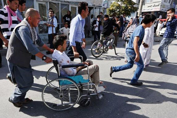 61 killed in Kabul suicide blast, IS claims responsibility