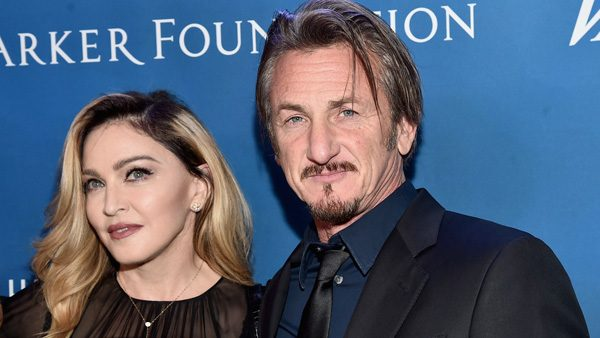 BEVERLY HILLS, CA - JANUARY 09:  Musician Madonna (L) and host Sean Penn attend the 5th Annual Sean Penn & Friends HELP HAITI HOME Gala Benefiting J/P Haitian Relief Organization at Montage Hotel on January 9, 2016 in Beverly Hills, California.  (Photo by Alberto E. Rodriguez/Getty Images for J/P HRO)