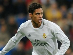 Real Madrid's Varane out for 1 month due to injury
