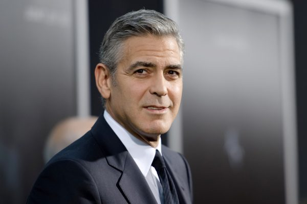 "FILE - APRIL 26: According to reports April 26, 2014 Geoge Clooney is engaged to Amal Alamuddin. NEW YORK, NY - OCTOBER 01:  George Clooney attends the ""Gravity"" New York premiere at AMC Lincoln Square Theater on October 1, 2013 in New York City.  (Photo by D Dipasupil/FilmMagic) ORG XMIT: 182303915 ORIG FILE ID: 182616175"