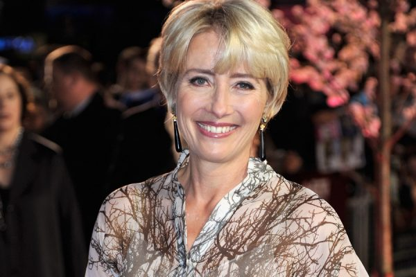 "LONDON, ENGLAND - OCTOBER 20:  Actress Emma Thompson attends the Closing Night Gala European Premiere of ""Saving Mr Banks"" during the 57th BFI London Film Festival at Odeon Leicester Square on October 20, 2013 in London, England.  (Photo by Gareth Cattermole/Getty Images for BFI)"