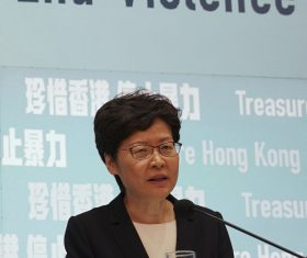 HK's Lam rejects calls for voluntary pay freeze