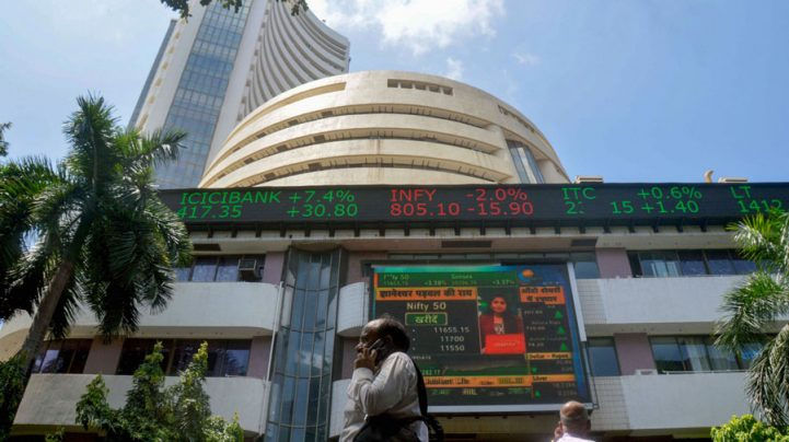 Benchmarks soar to record highs on earnings, global cues; Infy rallies 5%