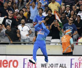 1st T20I: India beat New Zealand by six wickets