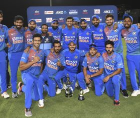 5th T20I: Bumrah, Rohit star as India complete 5-0 sweep