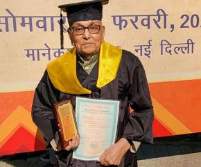 At 93, CI Subramanian finishes his masters from IGNOU