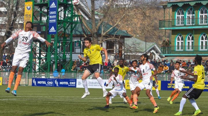 I-League: Real Kashmir snap two-match losing run