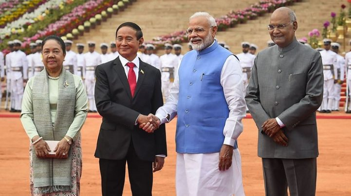 India, Myanmar sign 10 pacts