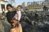 Delhi riots: Family members collect bodies of loved ones from morgue