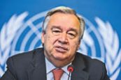 Guterres urges support for WHO after Trump's threat