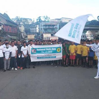 Unity runs mark 'National Unity Day' in the state