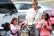 Charlize Theron's kids consider Oscar nomination 'waste of time'