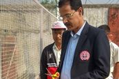 Dimapur gets new cricket practice pitch