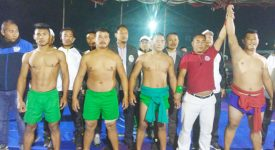 Abao wins Chakhroma wrestling competition
