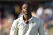 Rabada fined for ICC code breach, to miss next Test