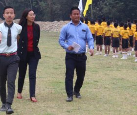 Logdrum Higher Secondary School annual sports meet concludes