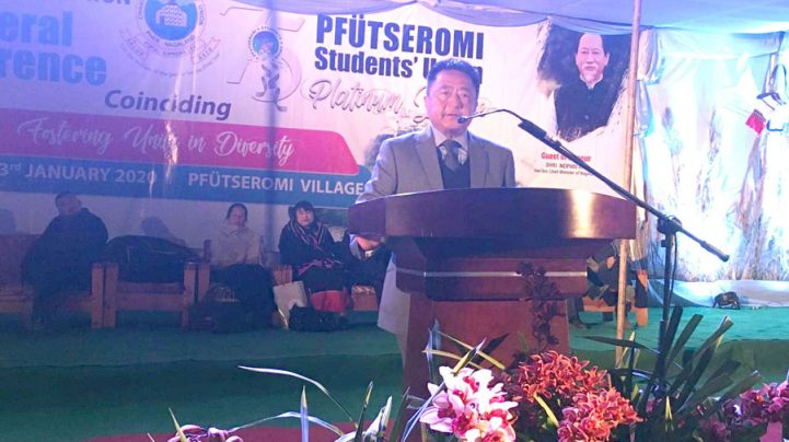 Conflict within Naga family has harmed us, says Swuro