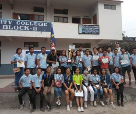 Annual PG sports meet held at Unity College Dimapur
