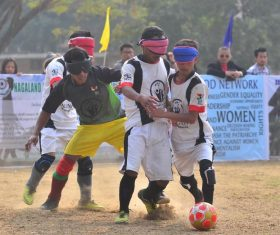 Blind football training camp concludes in Dimapur