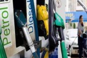 Fuel prices fall on Sunday after rise for three days