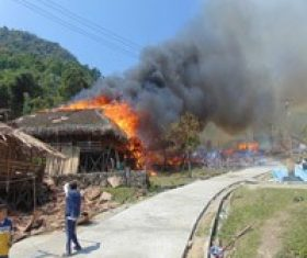 More than 60 houses saved from fire in  Arunachal