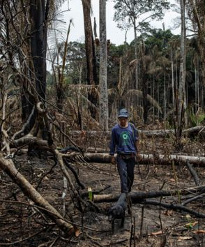 In Pictures: The indigenous tribes fighting  to save the Amazon